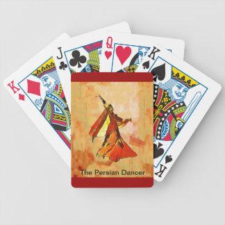 naipes persas del póker de Bicycle® del bailarín Baraja Cartas De Poker