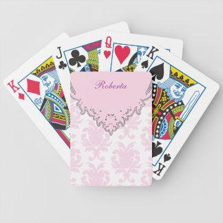 Naipes personalizados damasco baraja de cartas