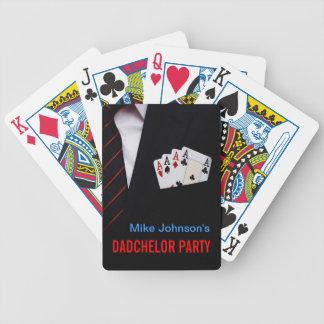 Naipes personalizados fiesta del póker de Dadchelo Cartas De Juego