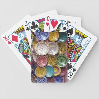 Naipes: Placa Souk de Marruecos Baraja Cartas De Poker