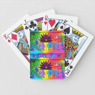 naipes psicodélicos maravillosos baraja de cartas