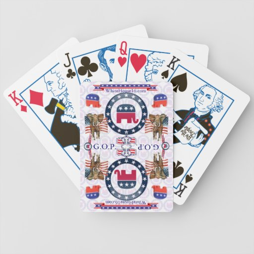 Naipes republicanos baraja cartas de poker