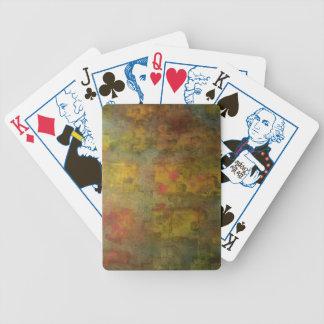 Naipes reservados de la yarda baraja de cartas
