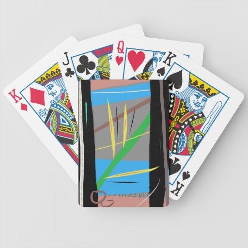 Naipes reservados del oasis barajas de cartas