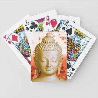 Naipes serenos de Buda Baraja Cartas De Poker