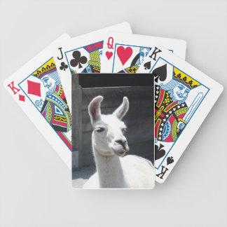 Naipes sonrientes de la llama baraja cartas de poker