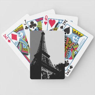 Naipes - torre Eiffel Barajas De Cartas