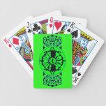 Naipes tóxicos de los animales barajas de cartas