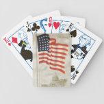 Naipes viejos de la gloria barajas de cartas