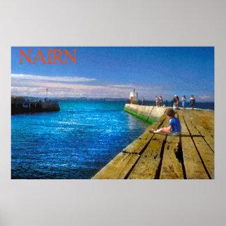 nairn jetty poster