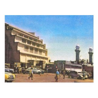 Nairobi, Kenia, mercado cubierto y mezquita Tarjetas Postales