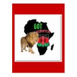 Nairobi, Kenya Flag T-shirt And Etc Post Cards