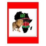Nairobi, Kenya Flag T-shirt And Etc Postcards
