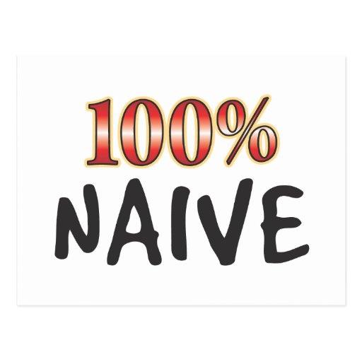 Naive 100 Percent Postcards