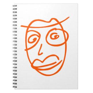 NAIVE cool illustration Notebook