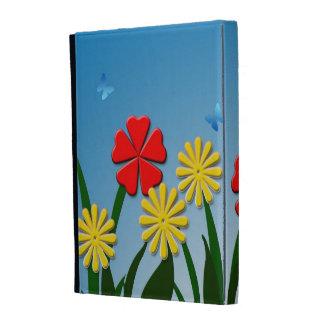 Naive nature scene iPad folio covers