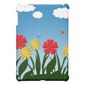 Naive nature scene iPad mini cases