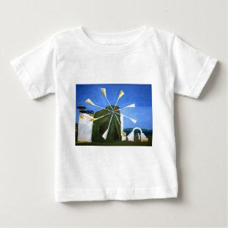 Naive Painting of a Windmill Tee Shirt