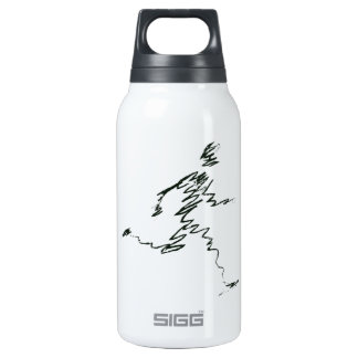NAIVE 10 OZ INSULATED SIGG THERMOS WATER BOTTLE
