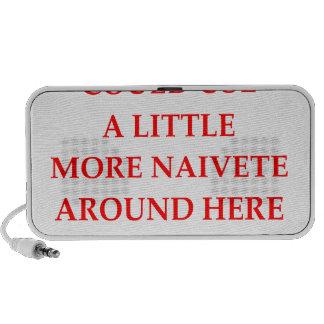 naive iPod speaker