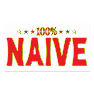 Naive Star Tag Business Card Templates