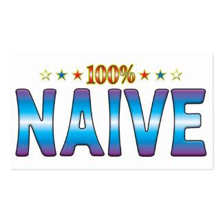 Naive Star Tag v2 Business Card Templates