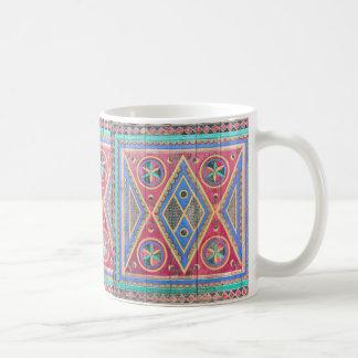 Najd Triangle Door Tribal Pattern Mug