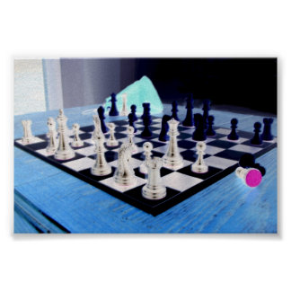 Najdorf Poisoned Pawn Poster
