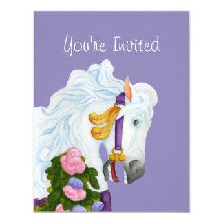 Najira Carousel Horse Invitation