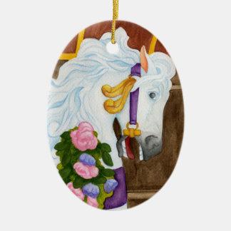 Najira Carousel Horse Ornament