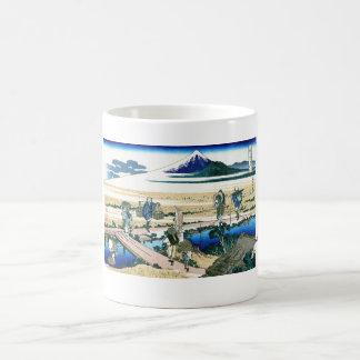 Nakahara in the Sagami province Katsushika Hokusai Classic White Coffee Mug