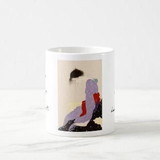 Nakajima Kiyoshi Love Letter japanese woman art Coffee Mug