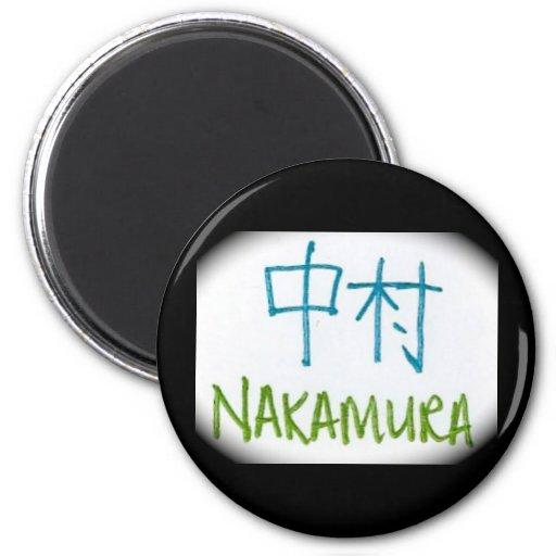 Nakamura Kanji Magnet
