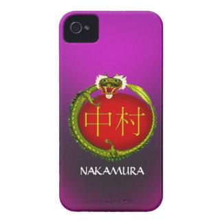 Nakamura Monogram Dragon Case-Mate iPhone 4 Case