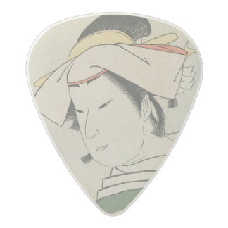 Nakamura Noshio II as Tonase, 1795 Acetal Guitar Pick