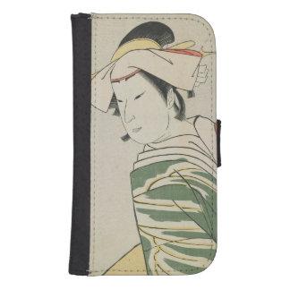Nakamura Noshio II como Tonase, 1795 Billeteras Para Teléfono