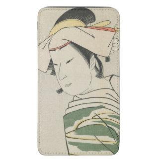 Nakamura Noshio II como Tonase, 1795 Funda Acolchada Para Galaxy S5