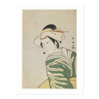 Nakamura Noshio II como Tonase, 1795 Tarjeta Postal