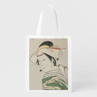 Nakamura Noshio II como Tonase, 1795 Bolsas De La Compra