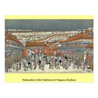 Nakanocho en Shin Yoshiwara por Utagawa, Toyoharu Tarjeta Postal