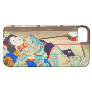 Nakazawa Hiromitsu Inn at Gion japan japanese lady iPhone 5 Covers