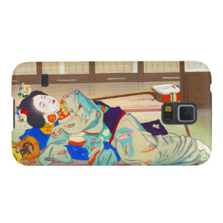 Nakazawa Hiromitsu Inn at Gion japan japanese lady Case For Galaxy S5