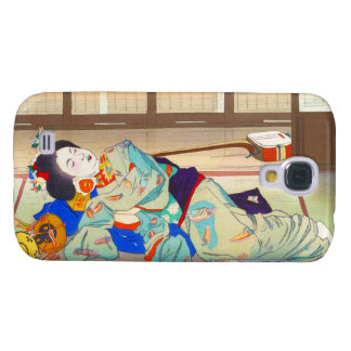 Nakazawa Hiromitsu Inn at Gion japan japanese lady Samsung Galaxy S4 Covers