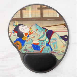 Nakazawa Hiromitsu Inn at Gion japan japanese lady Gel Mouse Pad