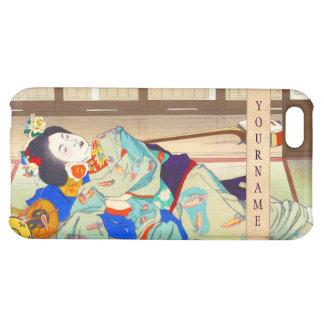 Nakazawa Hiromitsu Inn at Gion japan japanese lady iPhone 5C Case