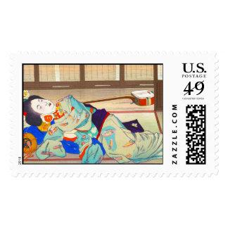 Nakazawa_Hiromitsu-Inn_at_Gion.jpg Timbres Postales