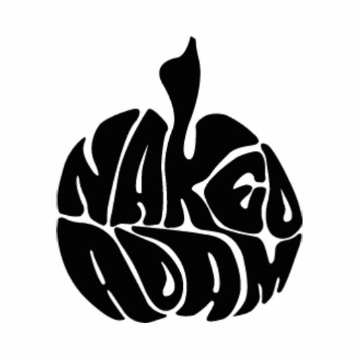 Naked Adam Black Logo Photo Sculpture
