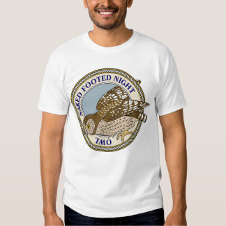 Naked-Footed Night Owl-M Tee Shirt