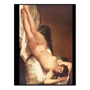 Naked Maja', Francisco de Goya_Portraits Postcard
