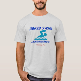 Naked Swim - International Championships Tee